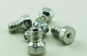 HY180R Tungsten Carbide Screw Ice Racing Studs