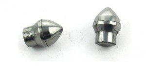 Tungsten carbide tooth for drill mine field